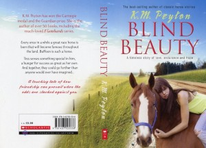 Blind Beauty, by KM Peyton - cover