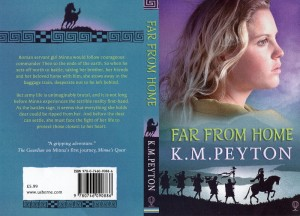 Far From Home, by KM Peyton - cover