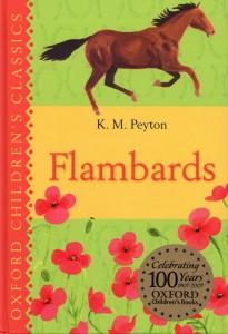 Flambards, by KM Peyton - cover