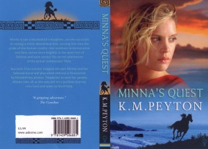 Minna's Quest, by KM Peyton - cover