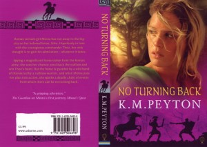 No Turning Back, by KM Peyton - cover